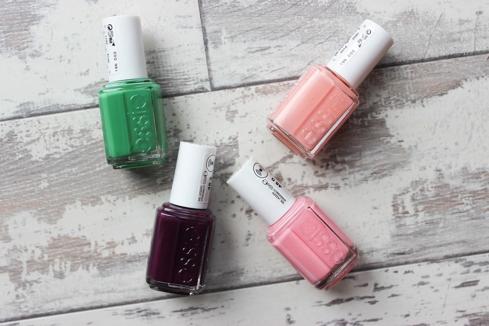 NAILS // ESSIE SPRING 2017 COLLECTION - Discoveries Of Self