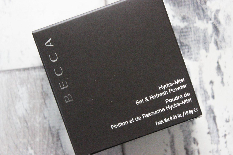 BECCA Hydra-Mist Refresh & Set Powder Dark Skin