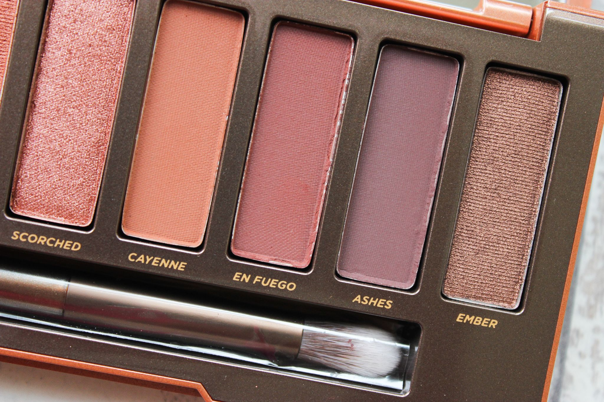 urban decay naked heat palette dark skin black skin dosblog