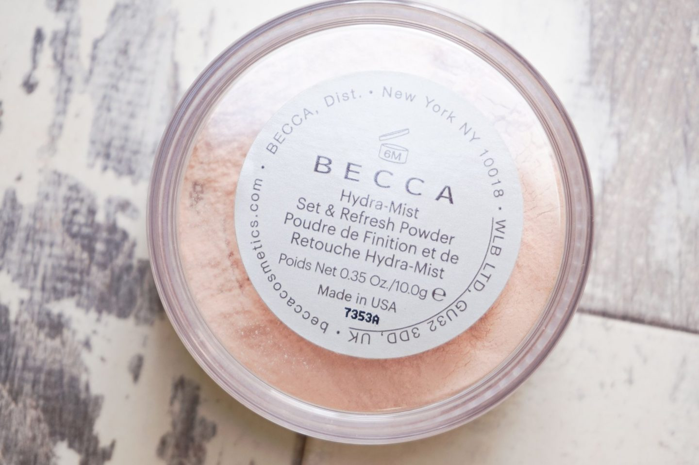 BECCA Hydra-Mist Refresh & Set Powder Dark Skin