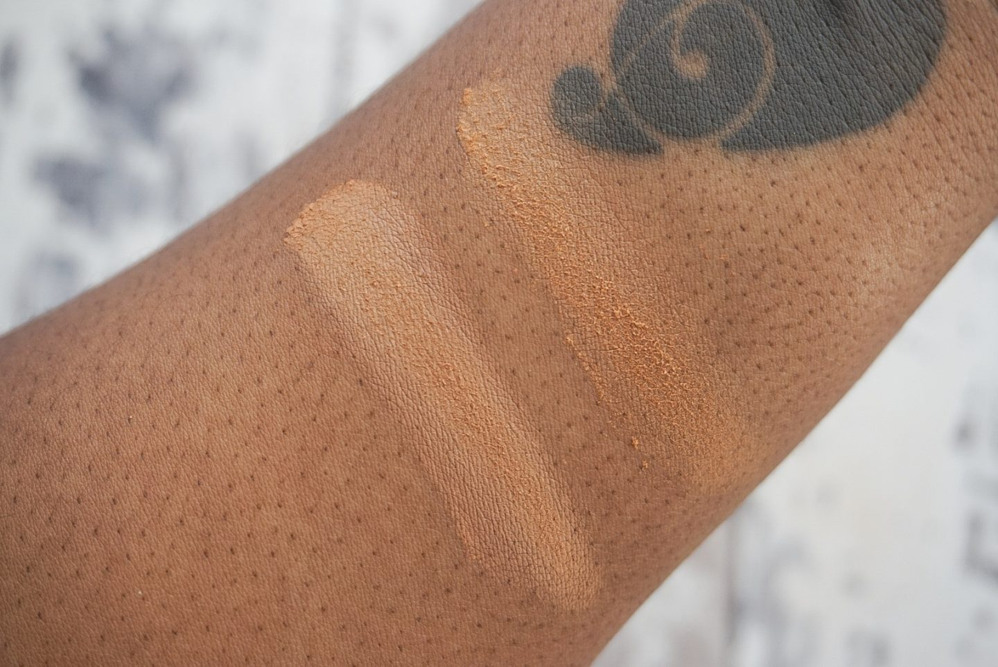 Fenty Beauty Pro Filt'r Concealers 360 380 Instant Retouch Powder Nutmeg 420 Dark Skin Black Skin Review